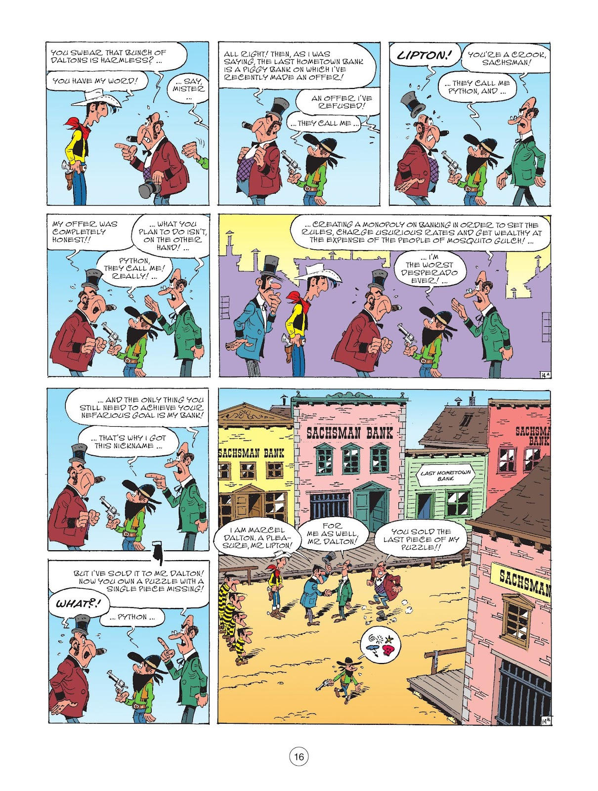 A Lucky Luke Adventure issue 72 - Page 18