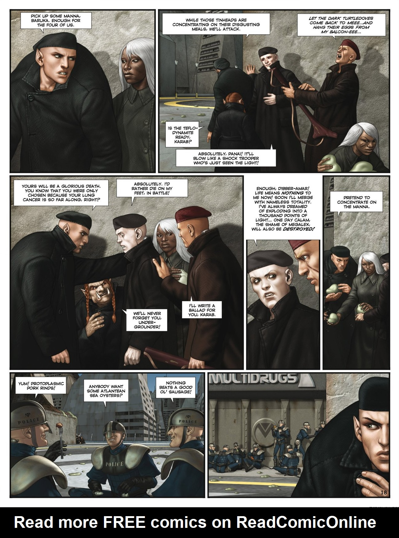 Read online Megalex (2014) comic -  Issue #2 - 20