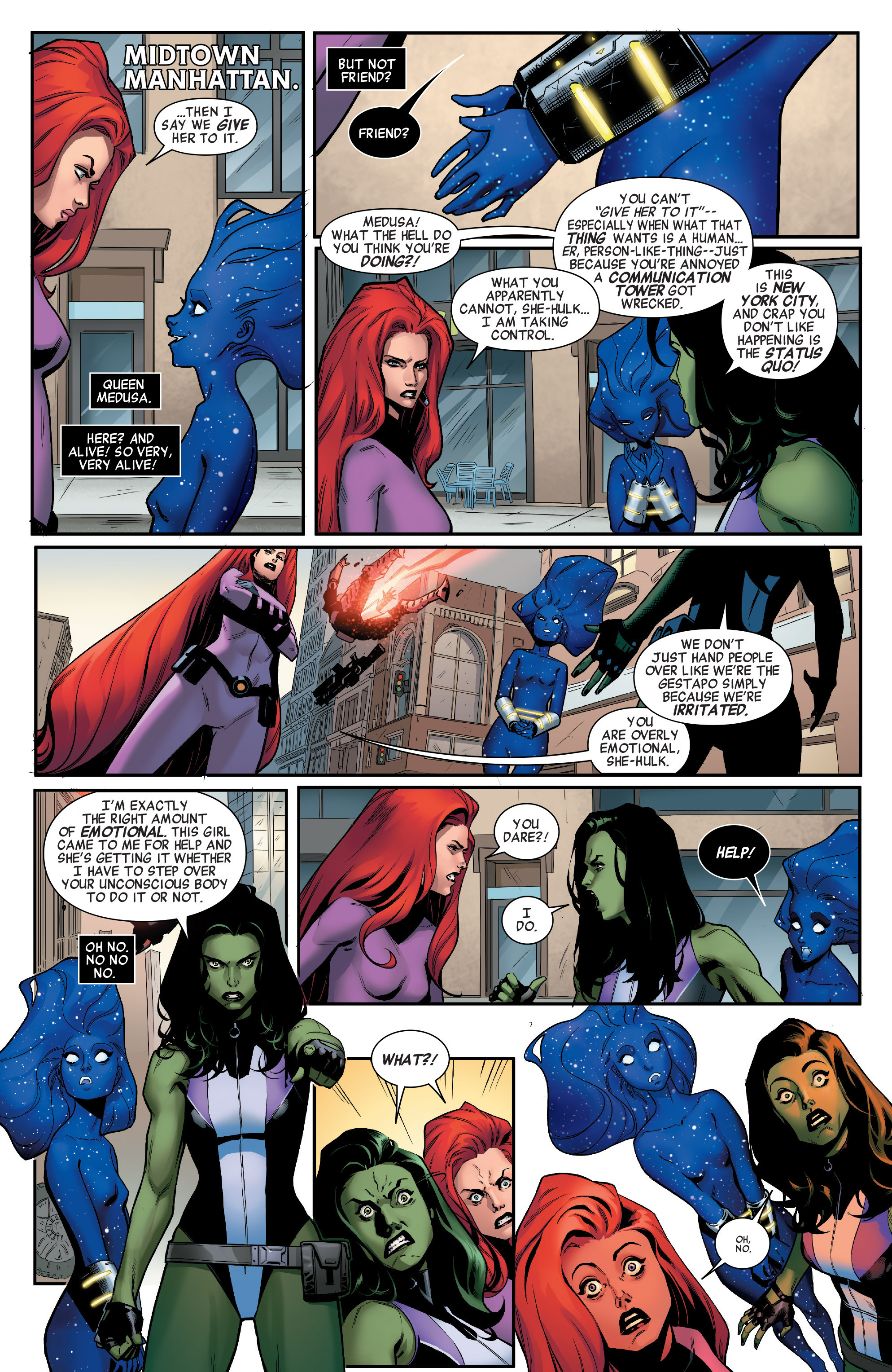 Read online A-Force (2016) comic -  Issue #2 - 3