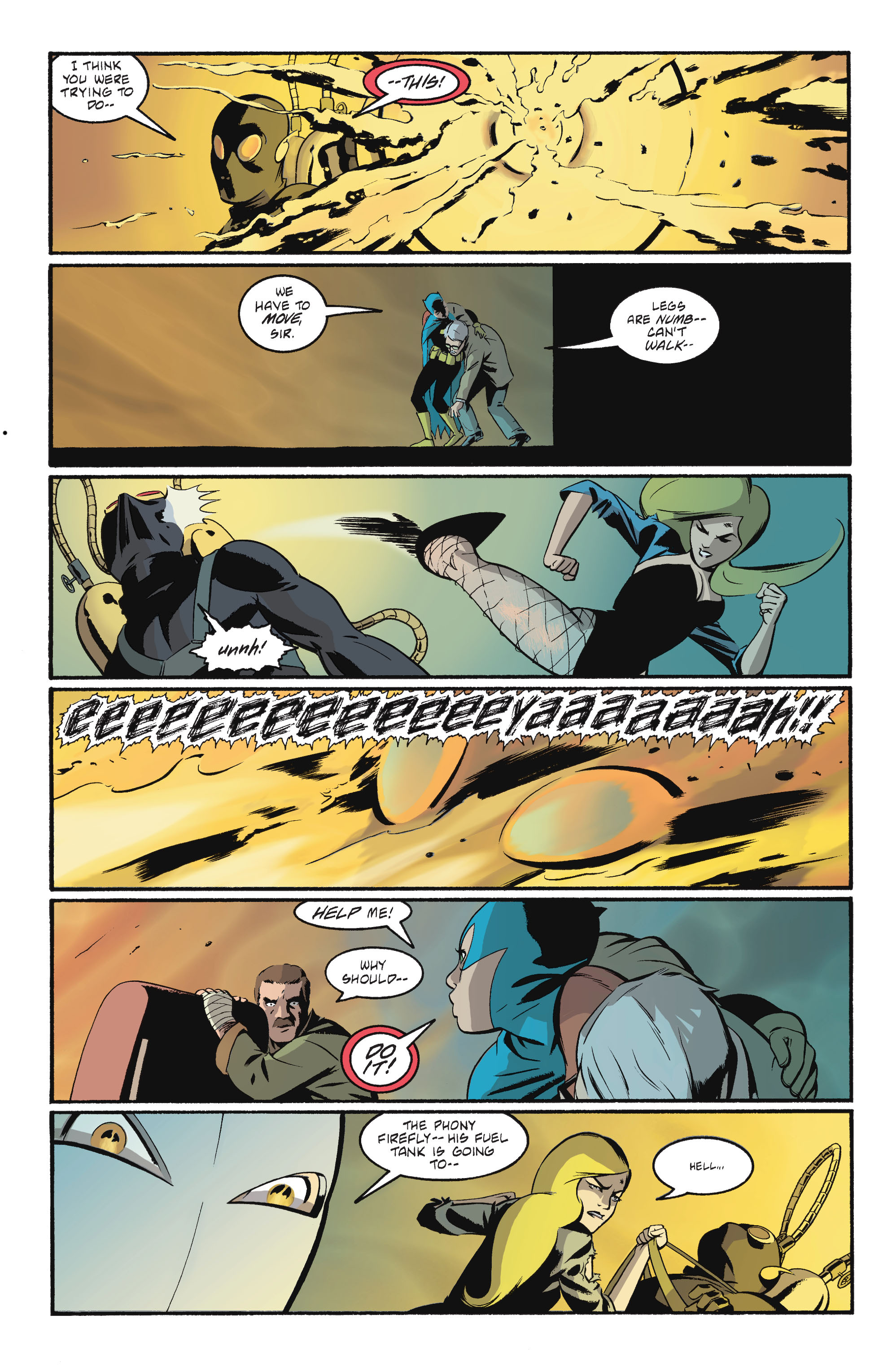 Read online Batgirl/Robin: Year One comic -  Issue # TPB 2 - 135