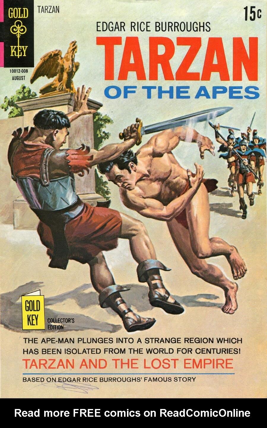 Tarzan (1962) issue 194 - Page 1