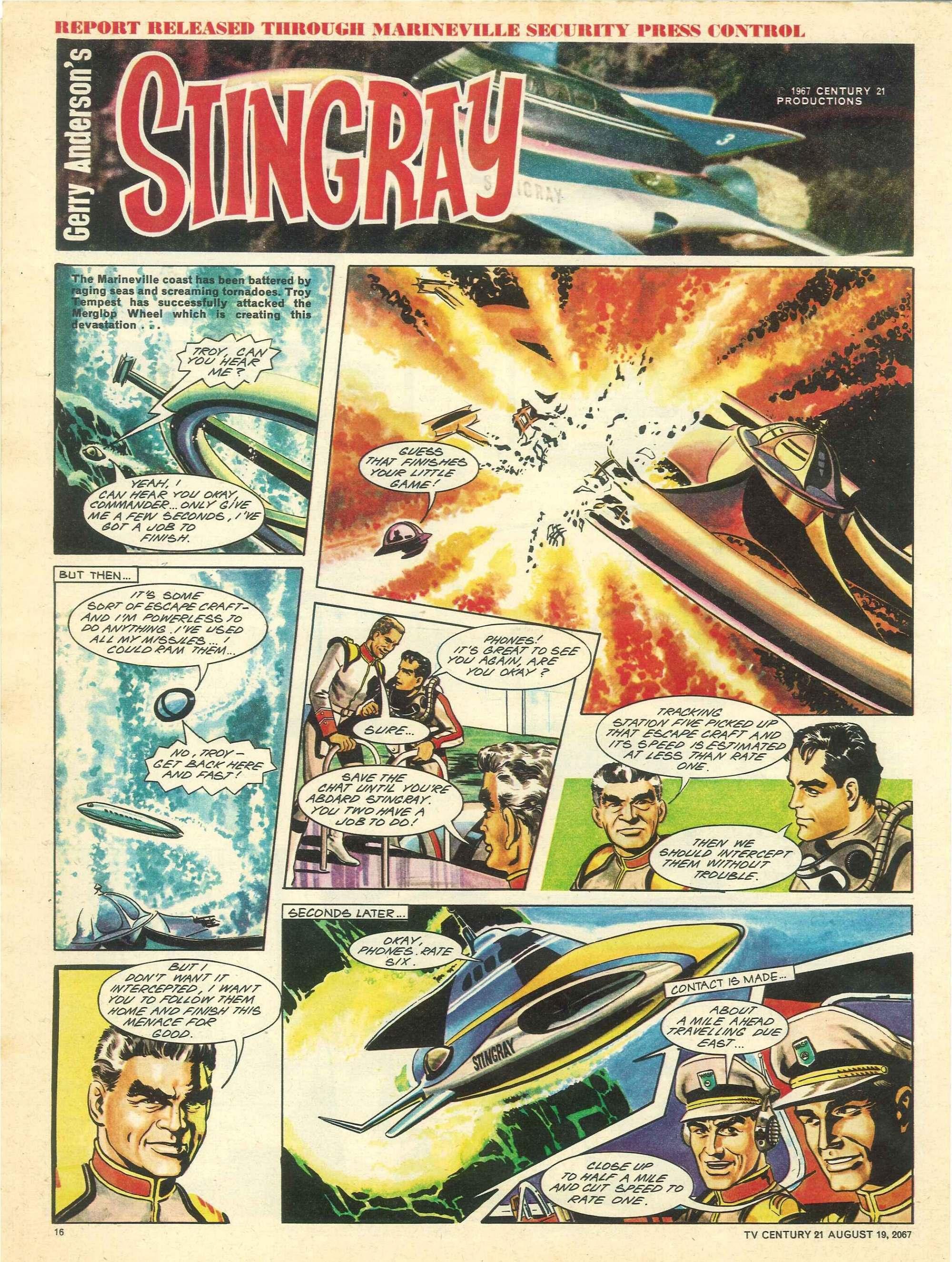 Read online TV Century 21 (TV 21) comic -  Issue #135 - 15