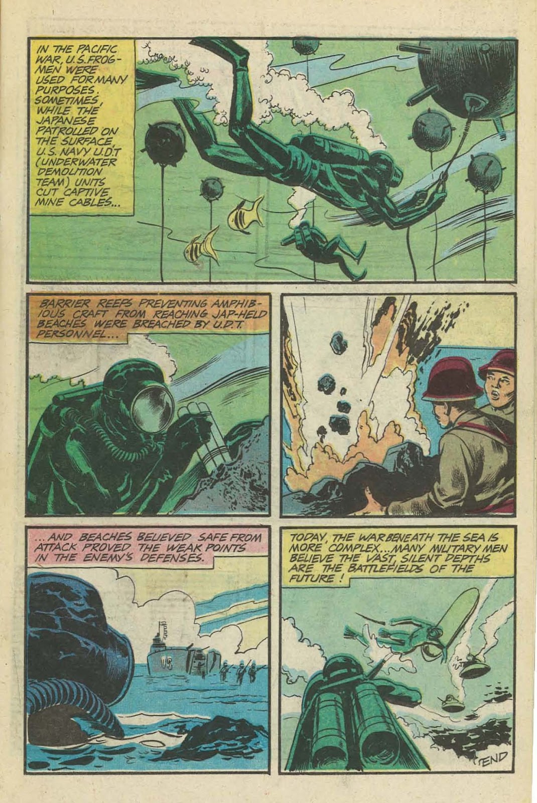 Read online Fightin' Navy comic -  Issue #129 - 11