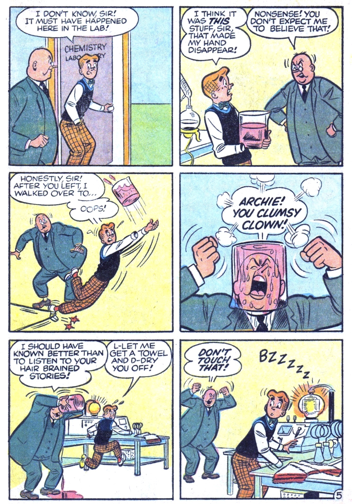 Read online Archie (1960) comic -  Issue #125 - 33