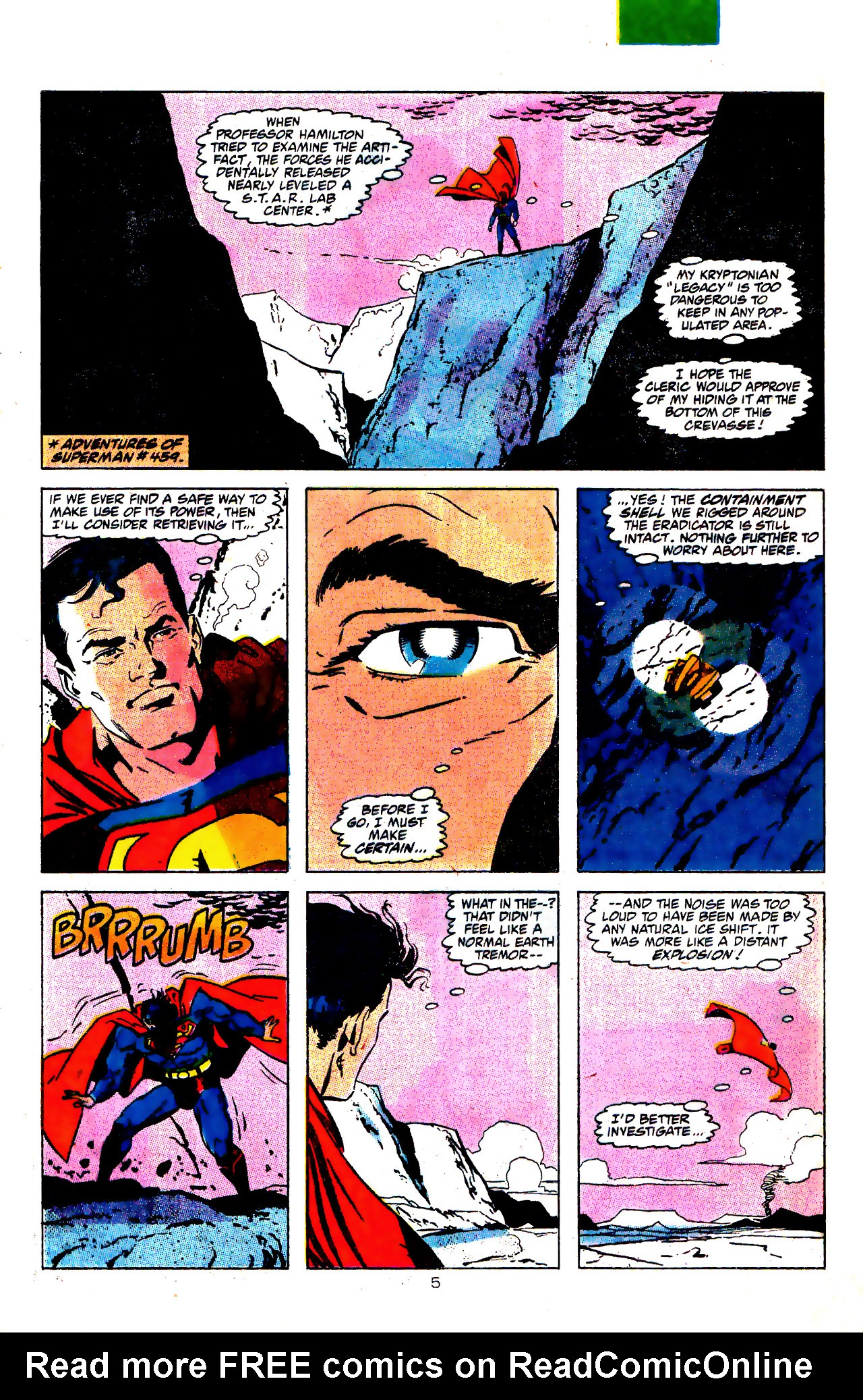 Read online Action Comics (1938) comic -  Issue #646 - 6