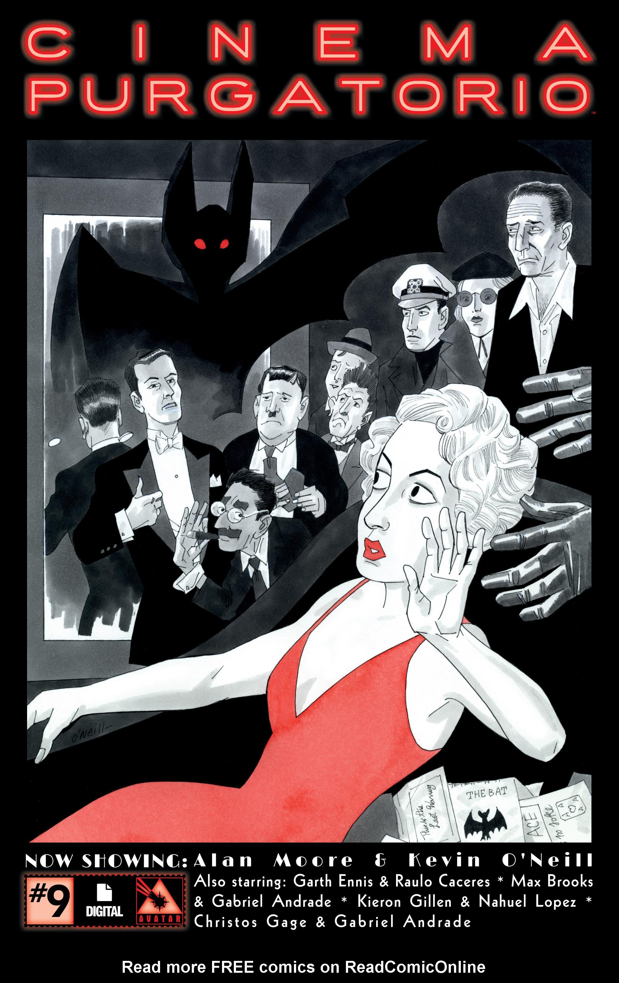 Read online Alan Moore's Cinema Purgatorio comic -  Issue #9 - 1