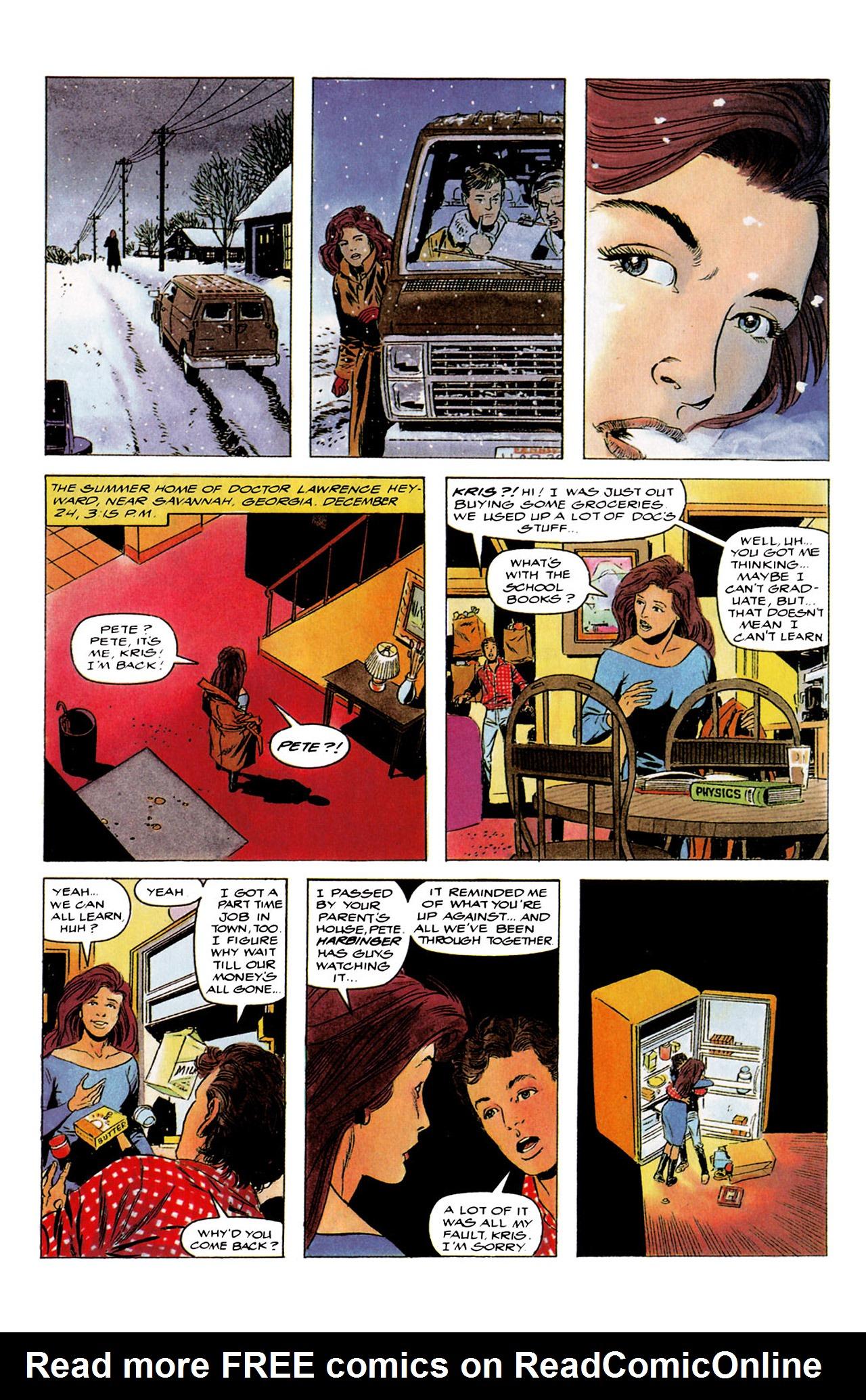 Read online Harbinger (1992) comic -  Issue #4 - 13