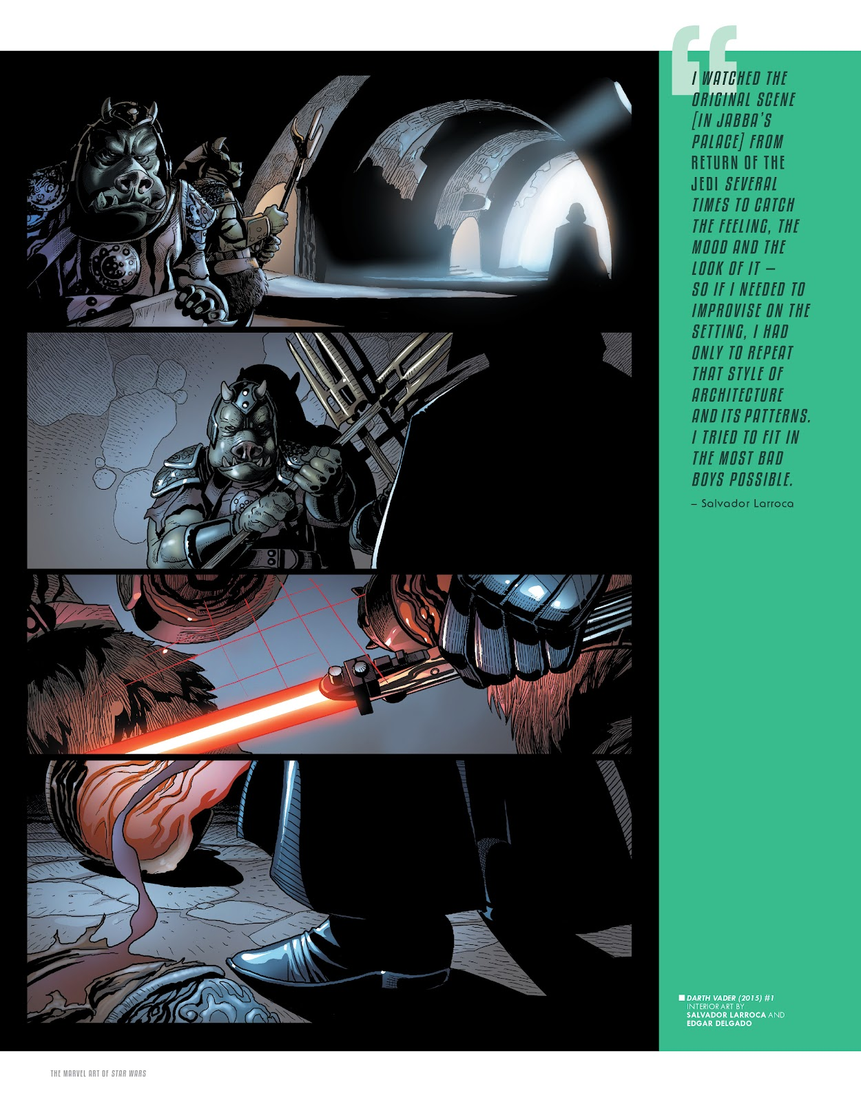 Read online The Marvel Art of Star Wars comic -  Issue # TPB (Part 1) - 53