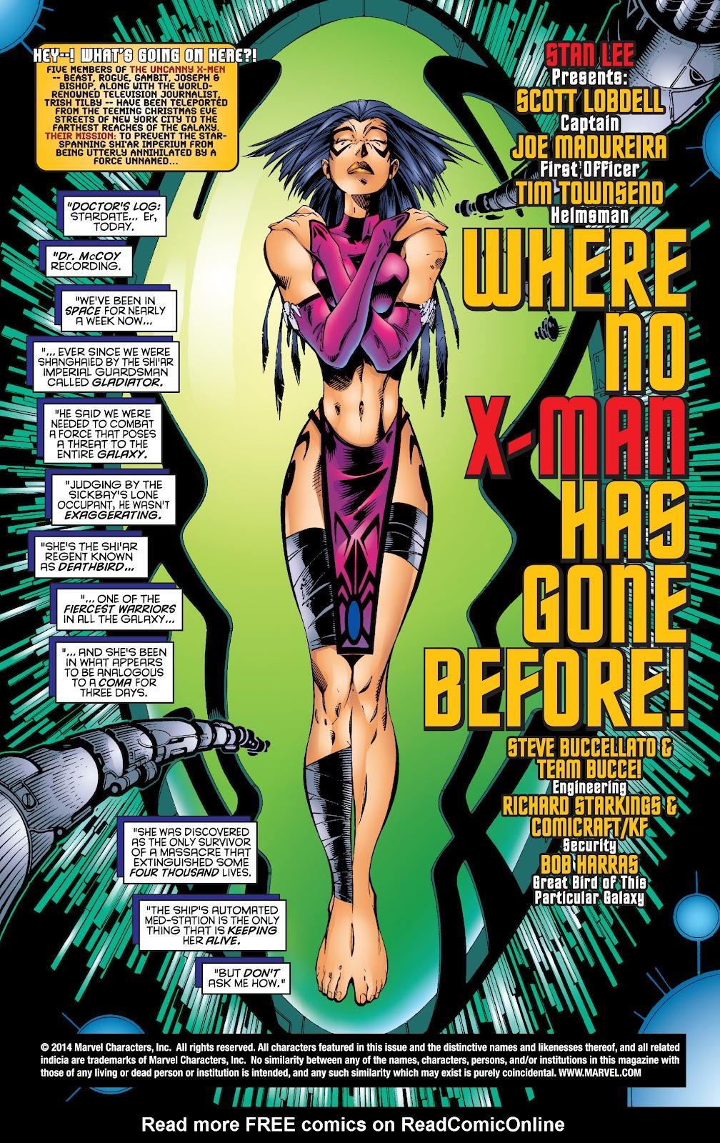 Uncanny X-Men (1963) issue 343 - Page 2