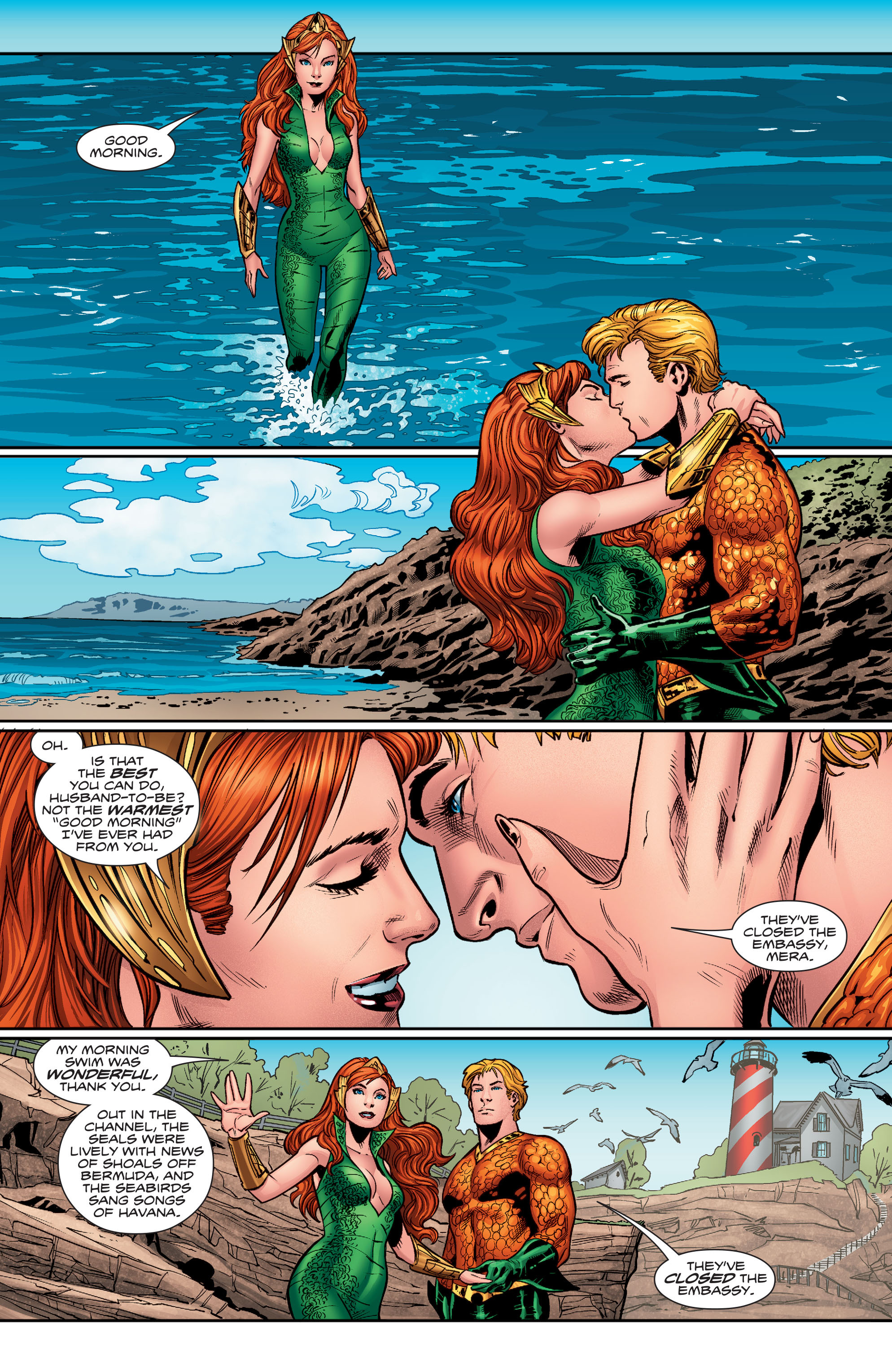 Read online Aquaman (2016) comic -  Issue #3 - 9