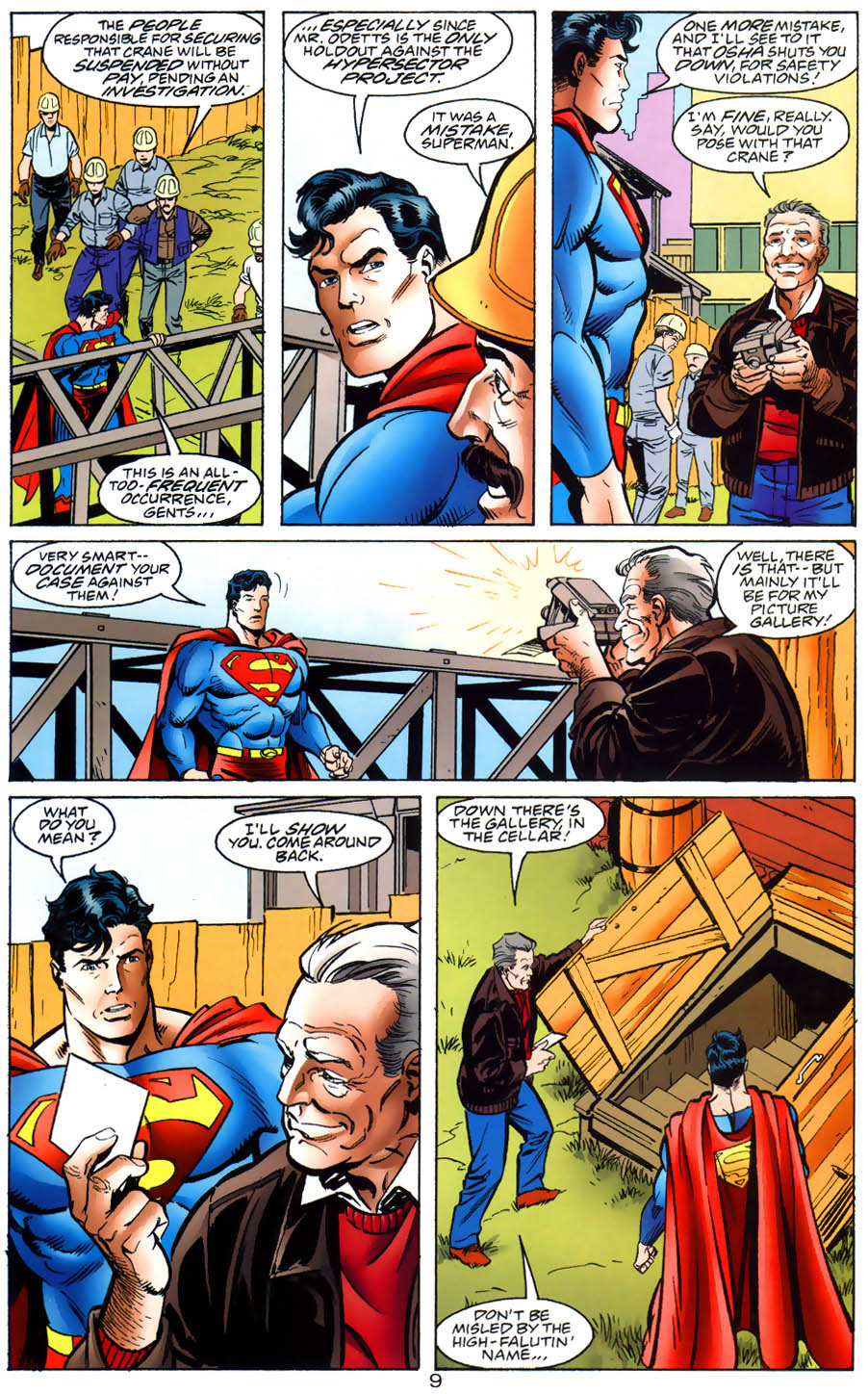 Read online Adventures of Superman (1987) comic -  Issue #564 - 10