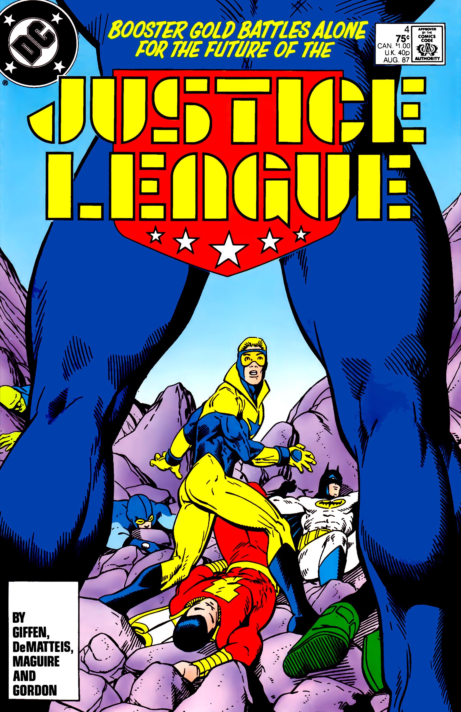 Justice League (1987) 4 Page 1
