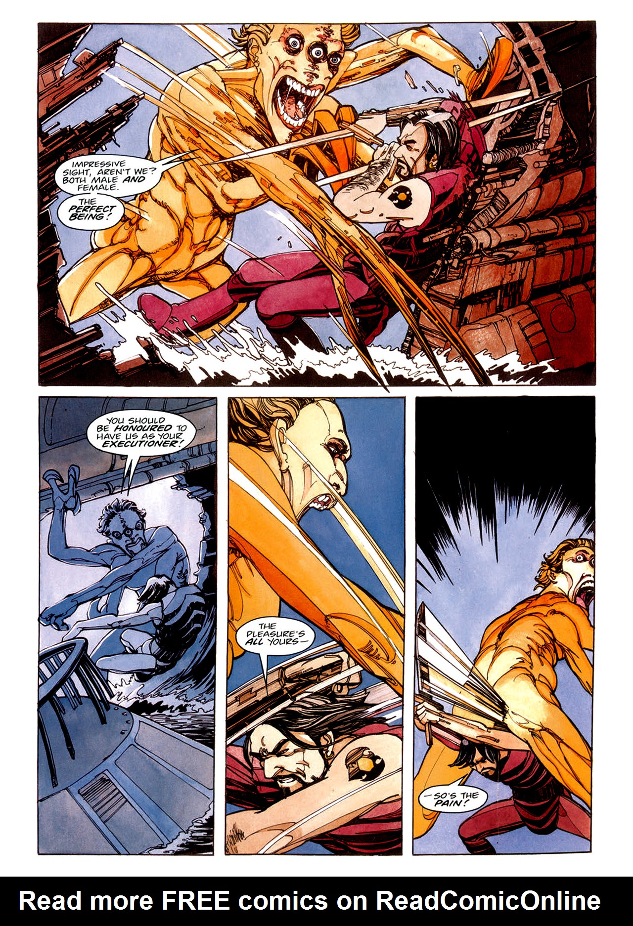 Read online Nikolai Dante comic -  Issue # TPB 1 - 41