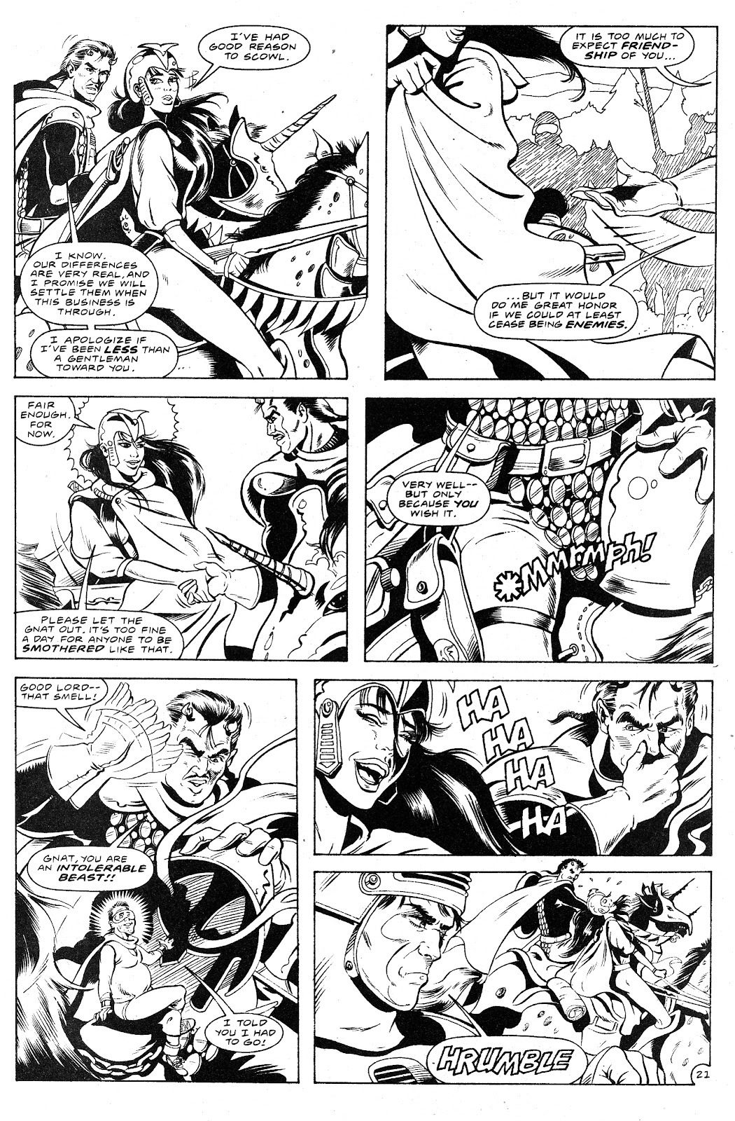 Ex-Mutants: The Shattered Earth Chronicles issue 9 - Page 23