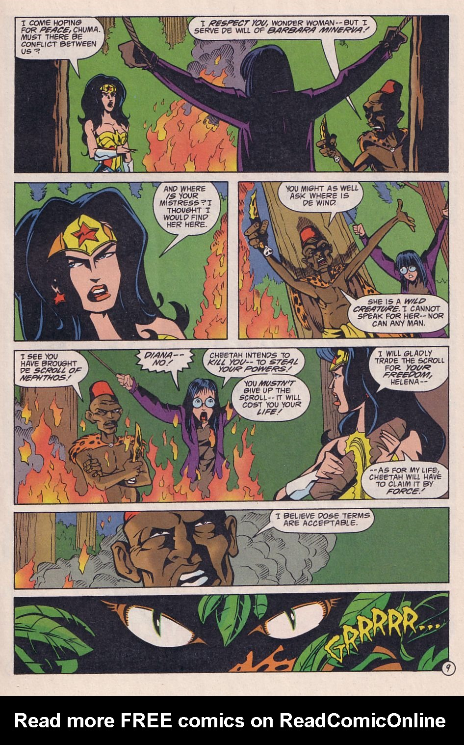 Read online Adventures in the DC Universe comic -  Issue #3 - 10