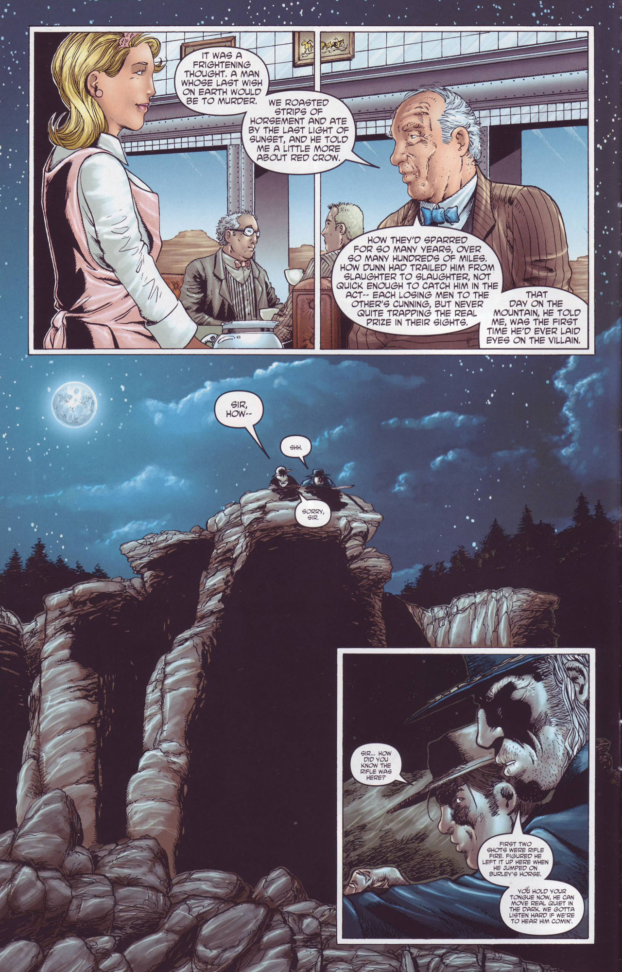 Read online Garth Ennis' Streets of Glory comic -  Issue #4 - 12
