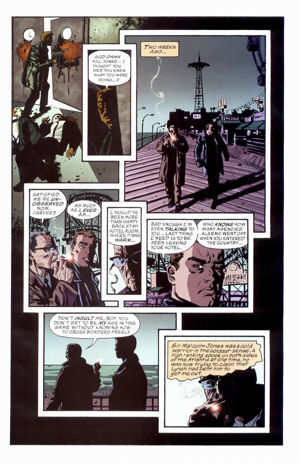 Read online Sleeper comic -  Issue #8 - 5