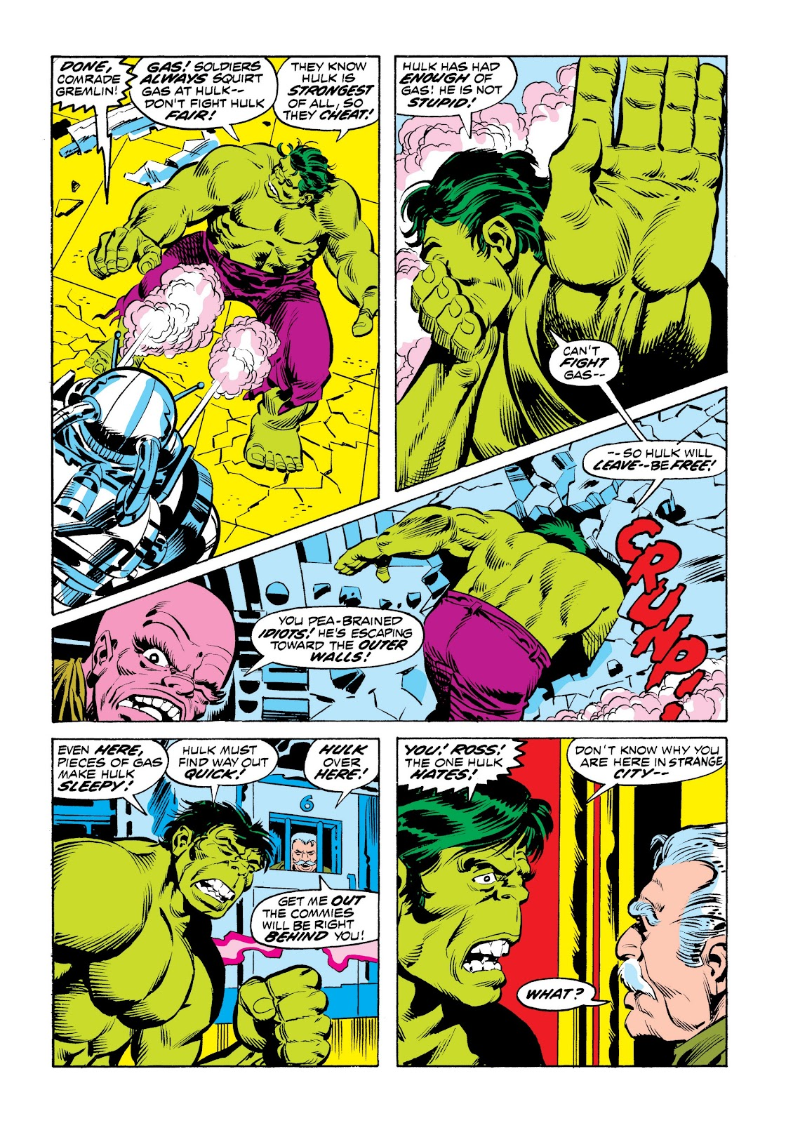 Read online Marvel Masterworks: The Incredible Hulk comic -  Issue # TPB 9 (Part 2) - 54