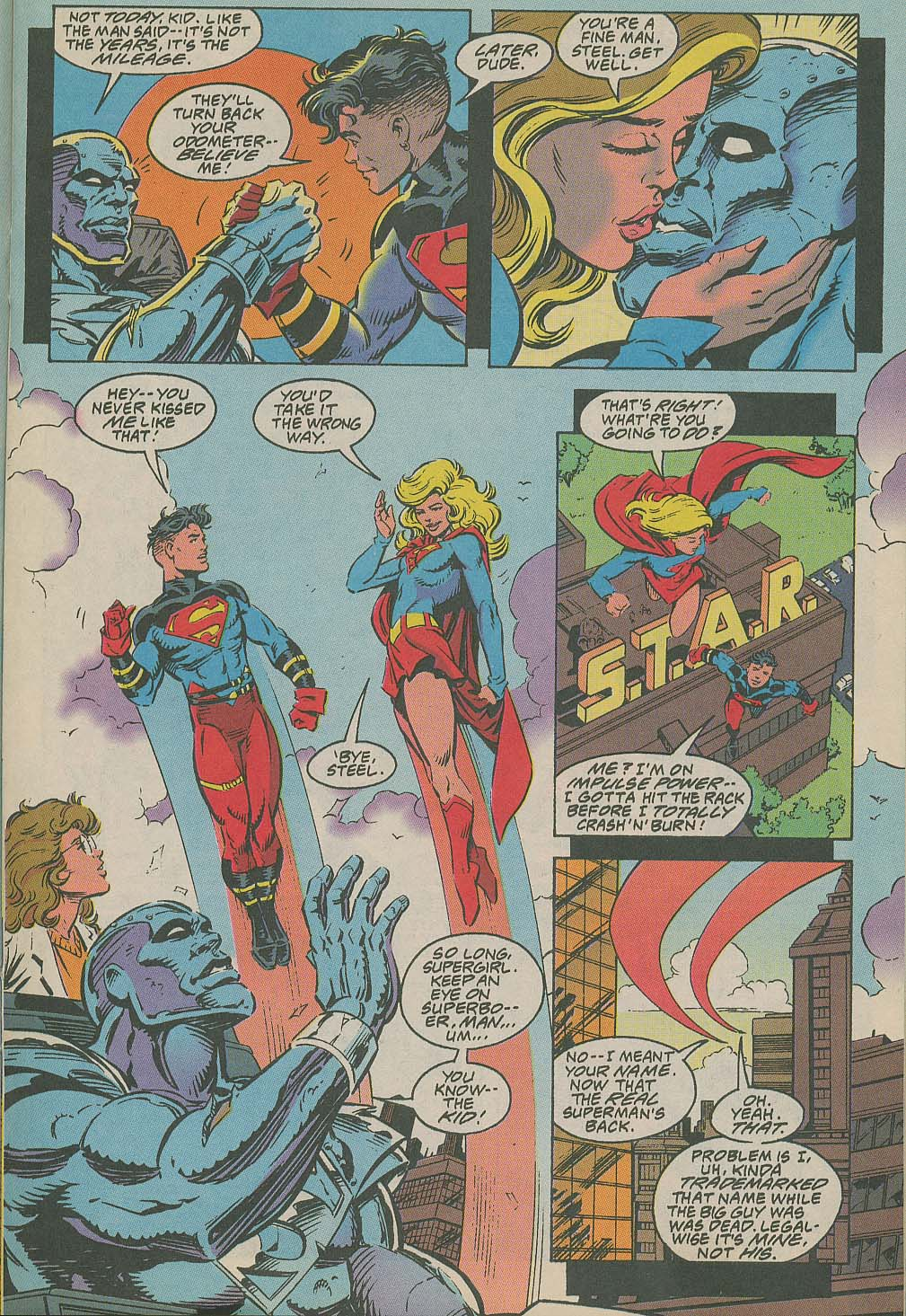 Read online Adventures of Superman (1987) comic -  Issue #505 - 10