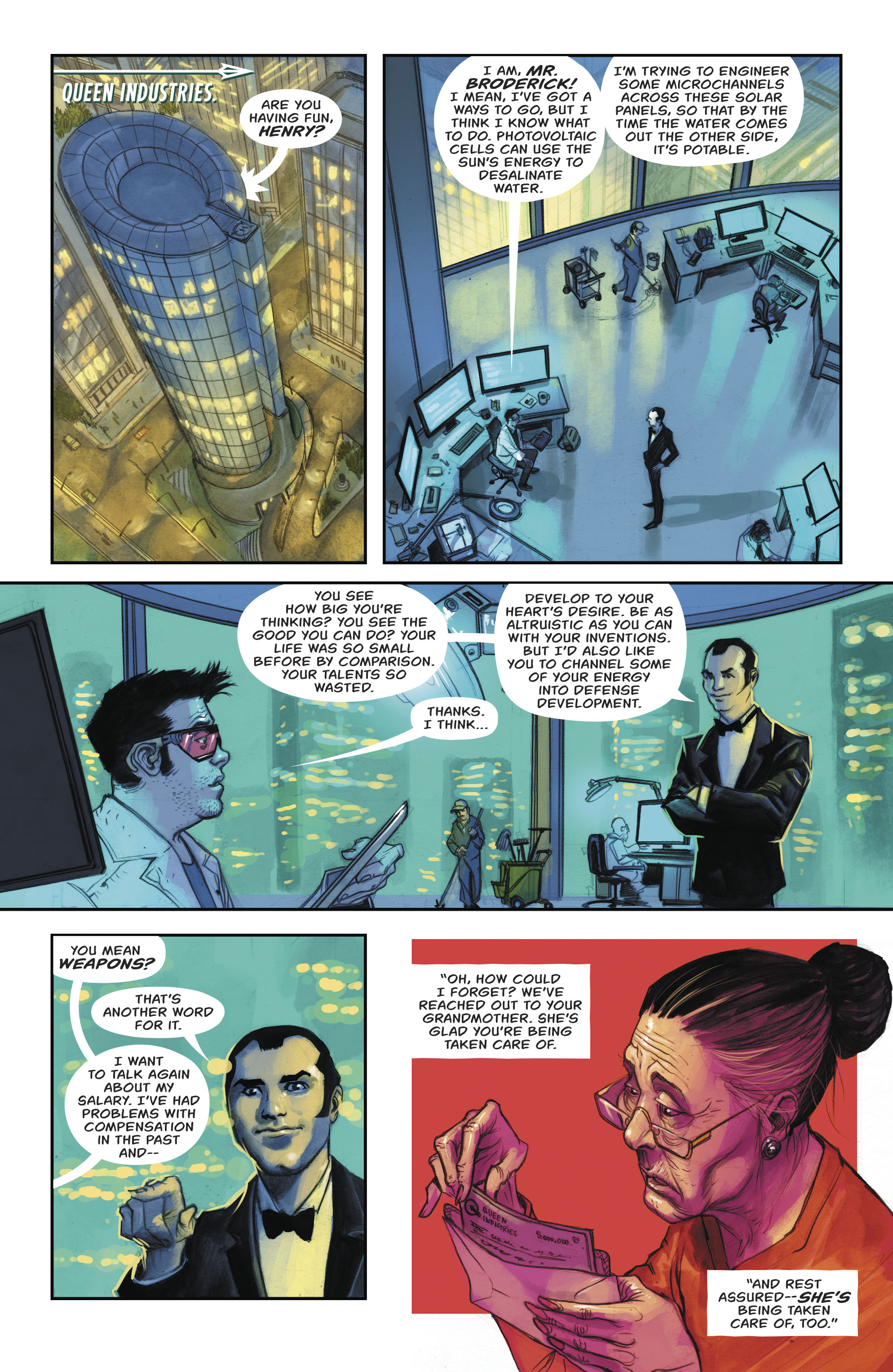 Read online Green Arrow (2016) comic -  Issue #24 - 7