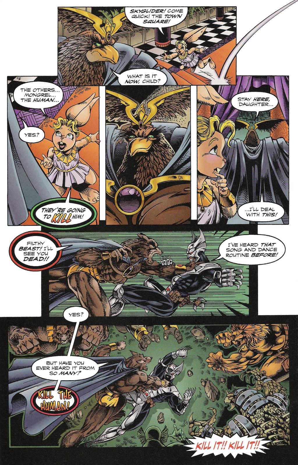 Read online ShadowHawk comic -  Issue #15 - 21