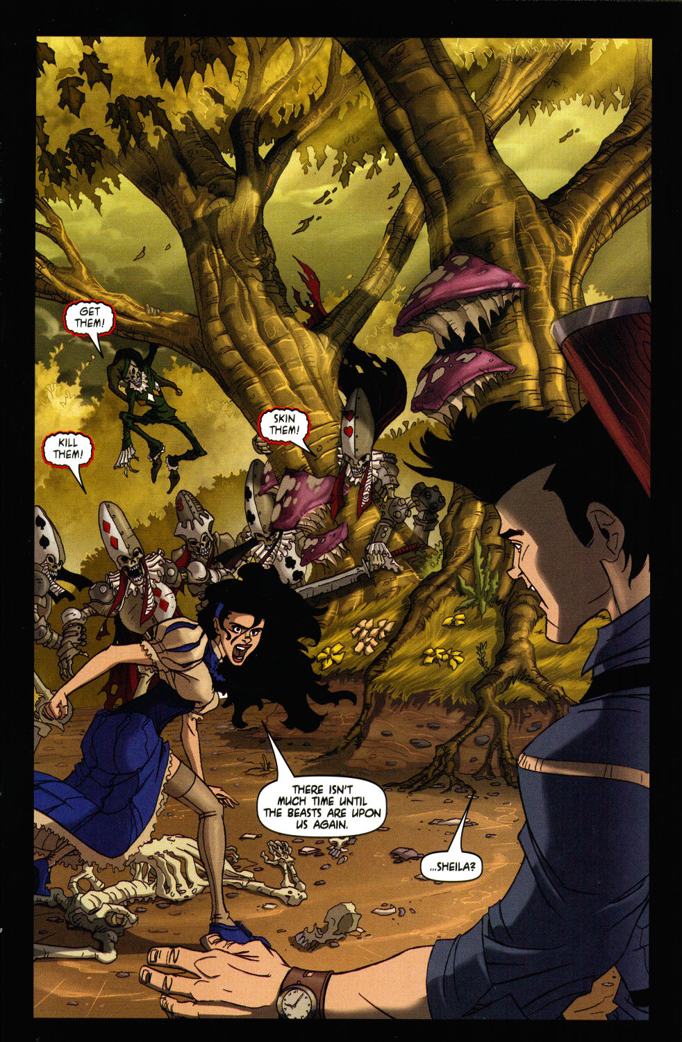 Read online Army of Darkness vs. Re-Animator comic -  Issue #3 - 11