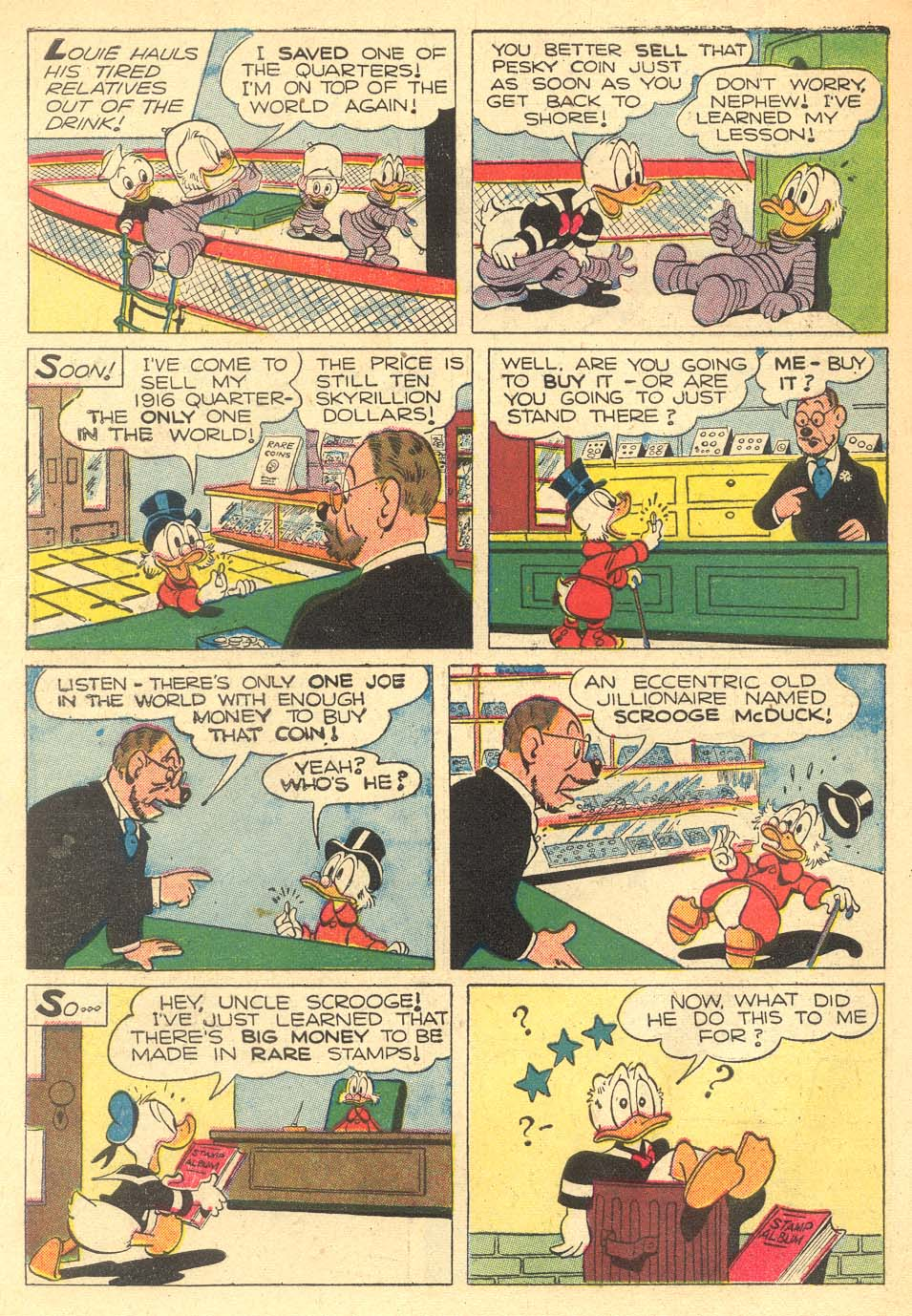 Read online Uncle Scrooge (1953) comic -  Issue #5 - 34