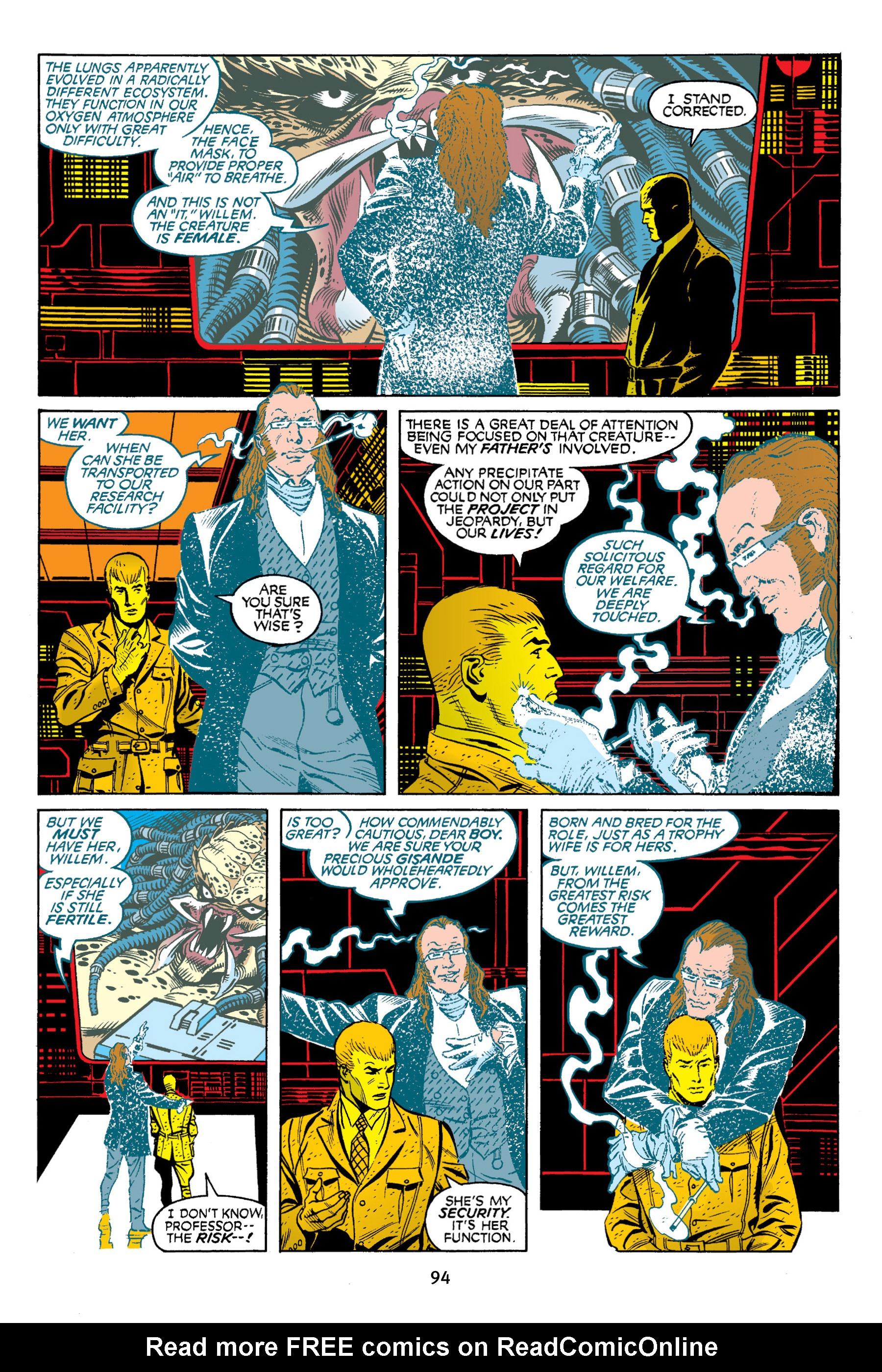 Read online Aliens vs. Predator Omnibus comic -  Issue # _TPB 2 Part 1 - 93