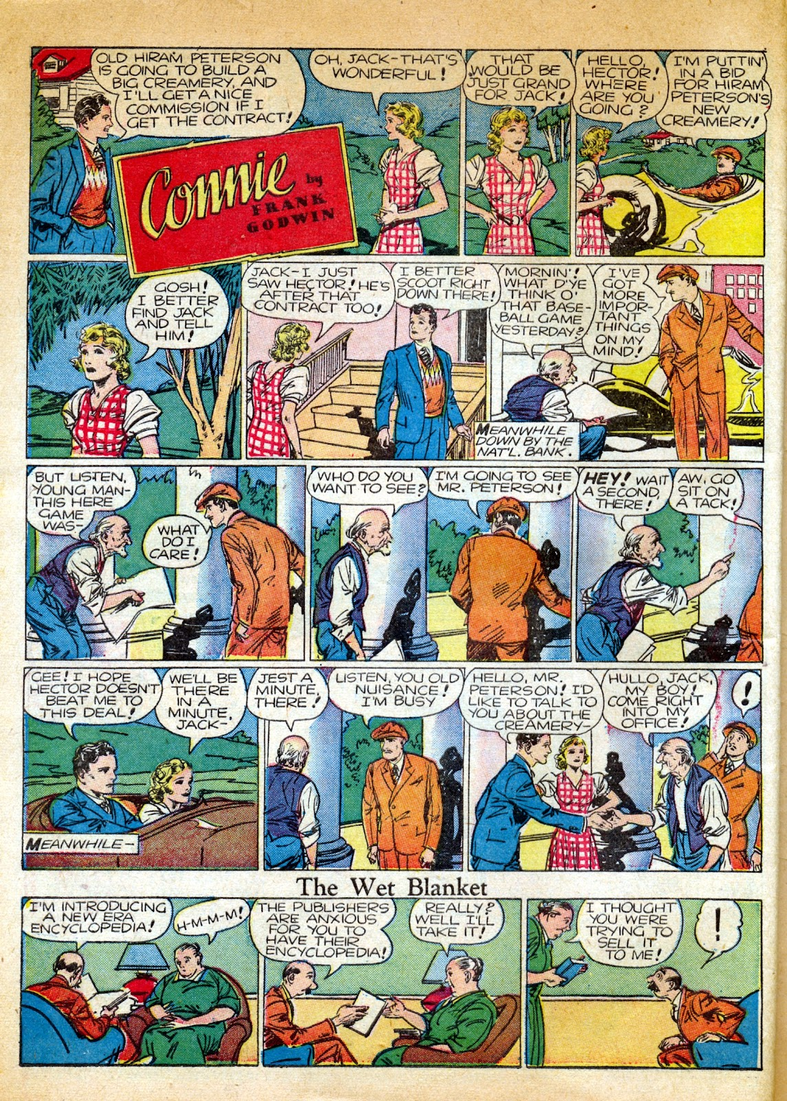 Read online Famous Funnies comic -  Issue #82 - 56
