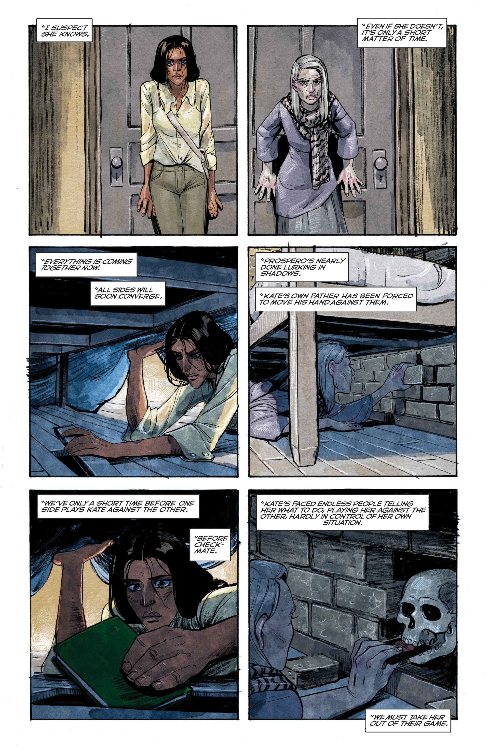 Read online Shutter comic -  Issue #13 - 11