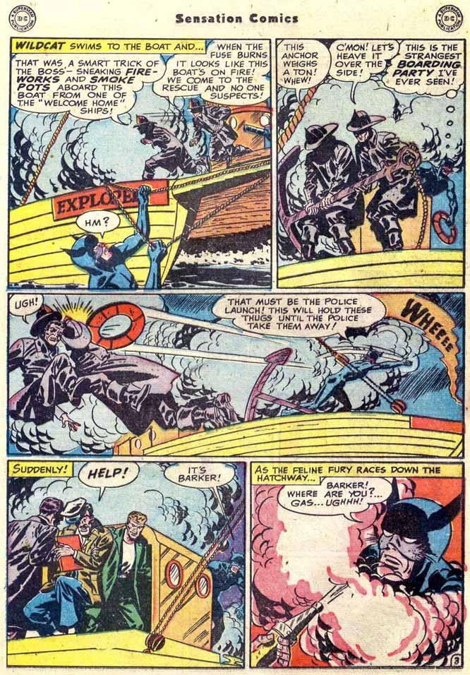Read online Sensation (Mystery) Comics comic -  Issue #89 - 19