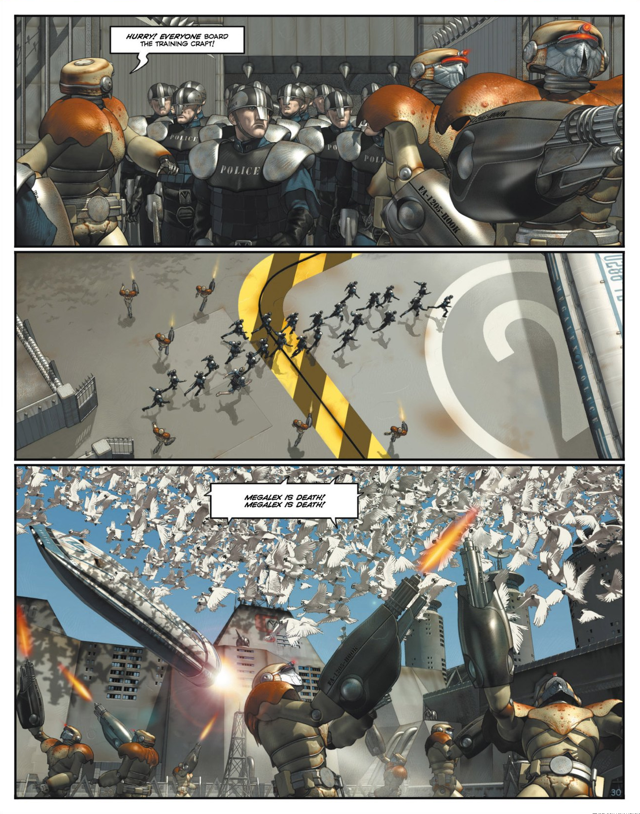 Read online Megalex (2014) comic -  Issue #1 - 35