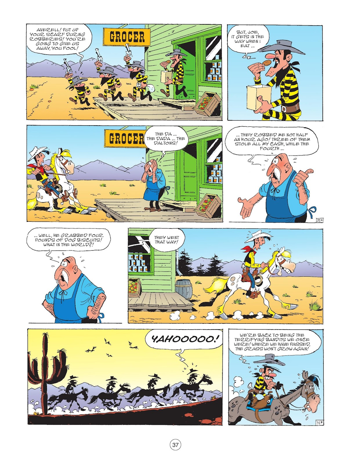 A Lucky Luke Adventure issue 72 - Page 39
