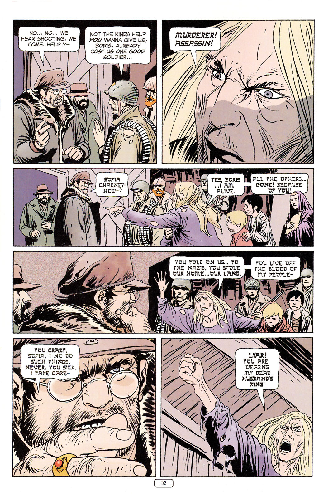 Read online Sgt. Rock: The Prophecy comic -  Issue #5 - 16