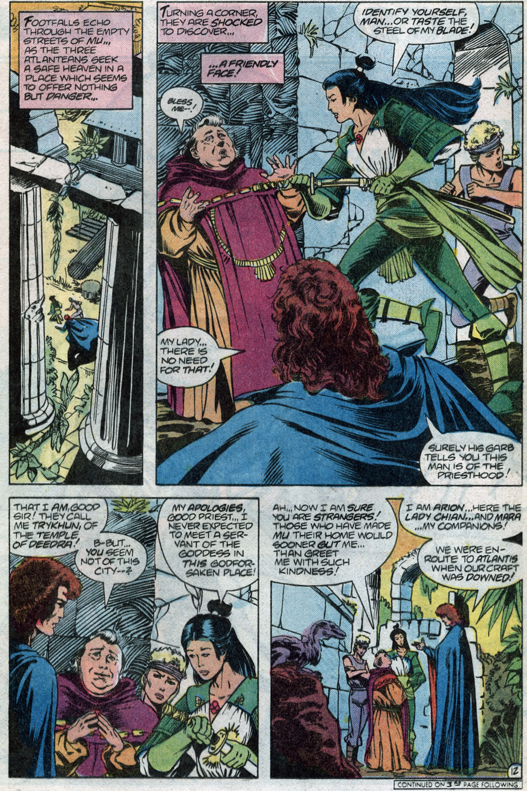 Read online Arion, Lord of Atlantis comic -  Issue #14 - 14