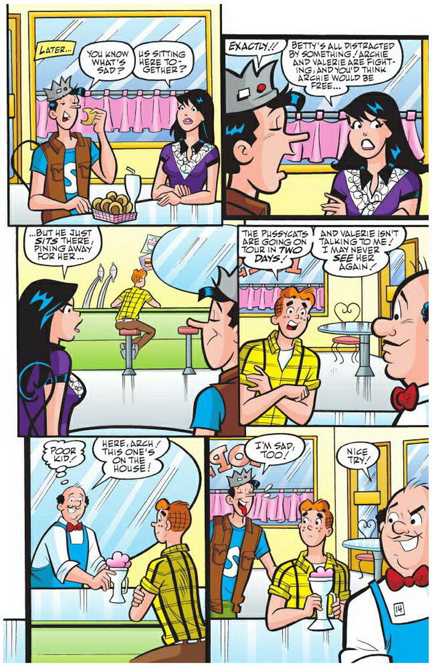 Read online Archie: A Rock 'n' Roll Romance comic -  Issue #Archie: A Rock 'n' Roll Romance Full - 20