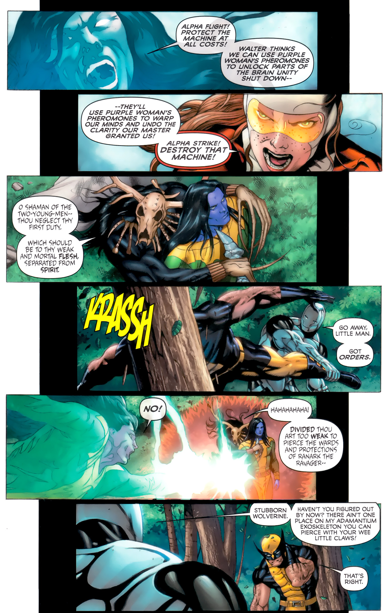 Read online Alpha Flight (2011) comic -  Issue #8 - 9