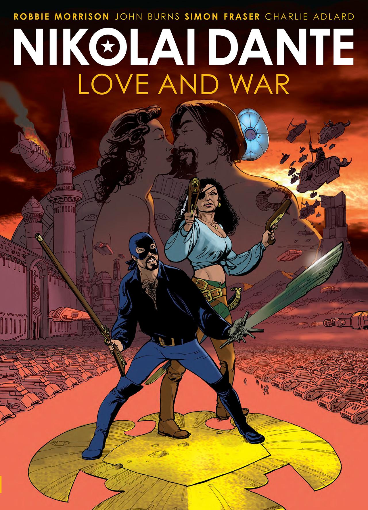 Read online Nikolai Dante comic -  Issue # TPB 3 - 1