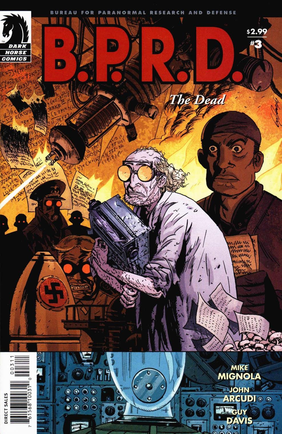 B.P.R.D.: The Dead 3 Page 1