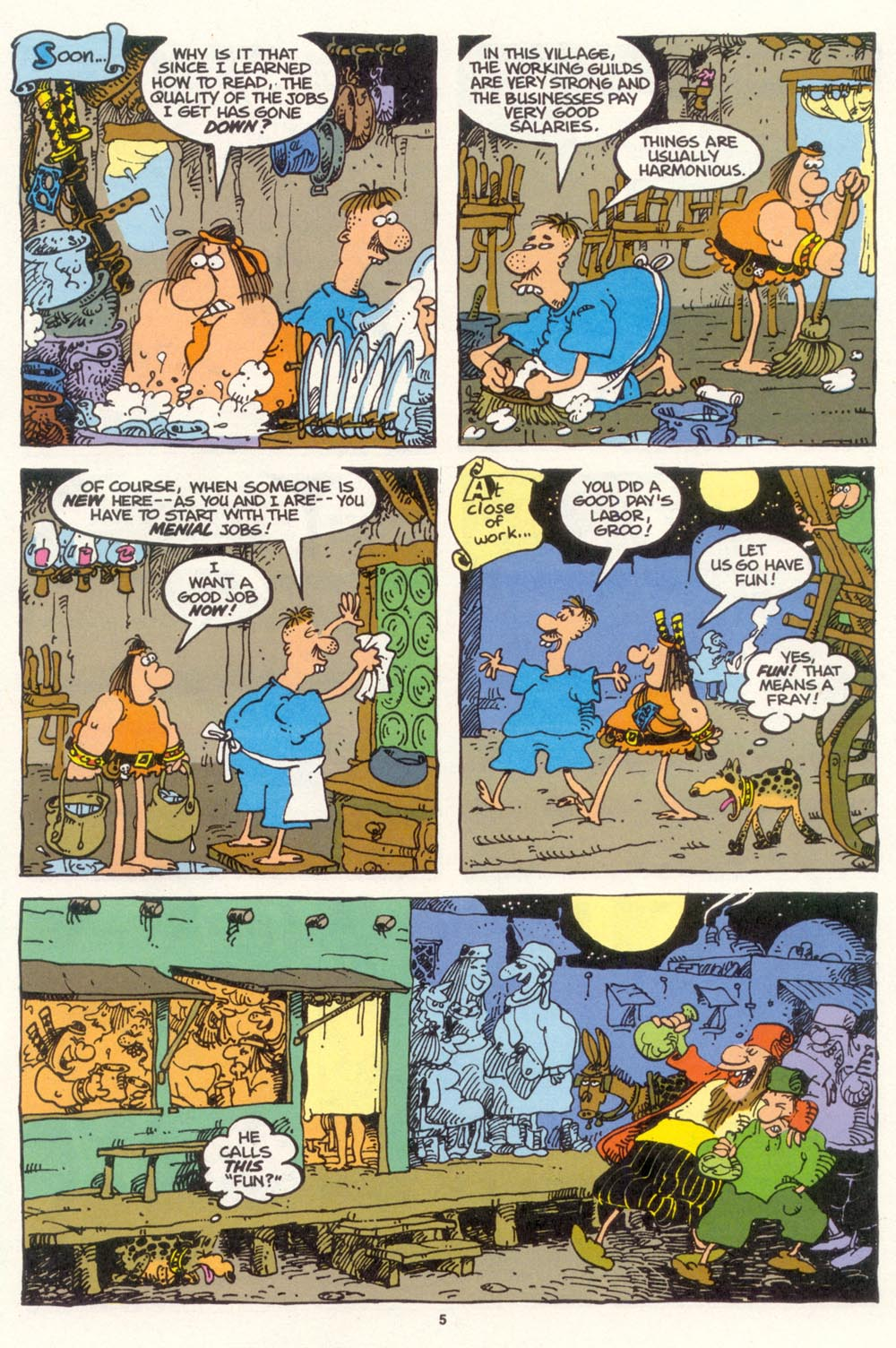 Read online Sergio Aragonés Groo the Wanderer comic -  Issue #102 - 7