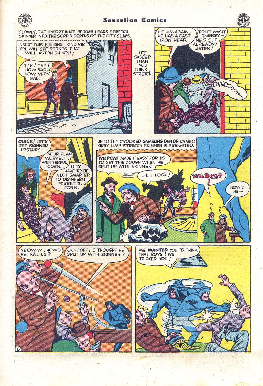 Read online Sensation (Mystery) Comics comic -  Issue #43 - 46