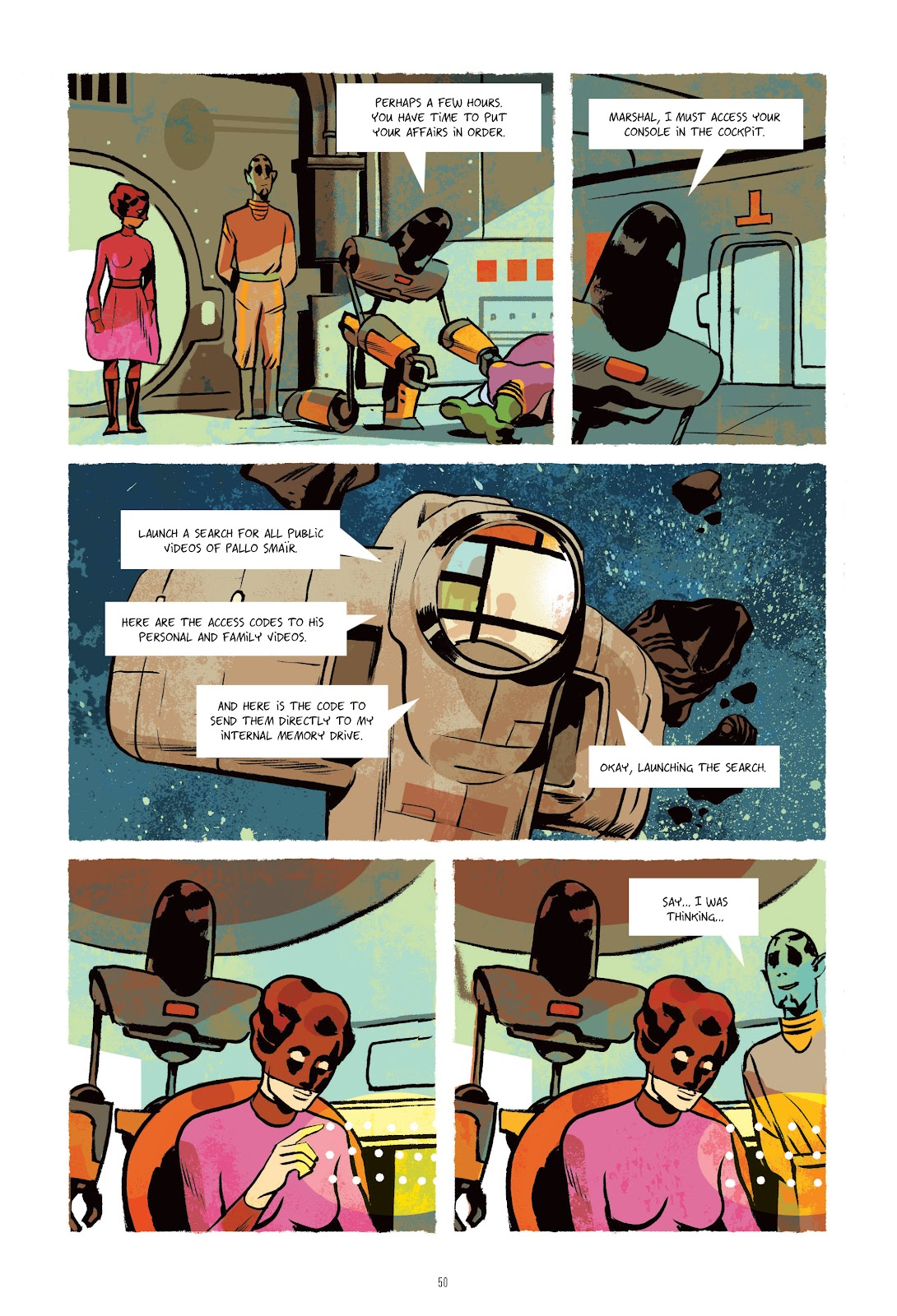 Read online Infinity 8 comic -  Issue # _TPB 3 - 50