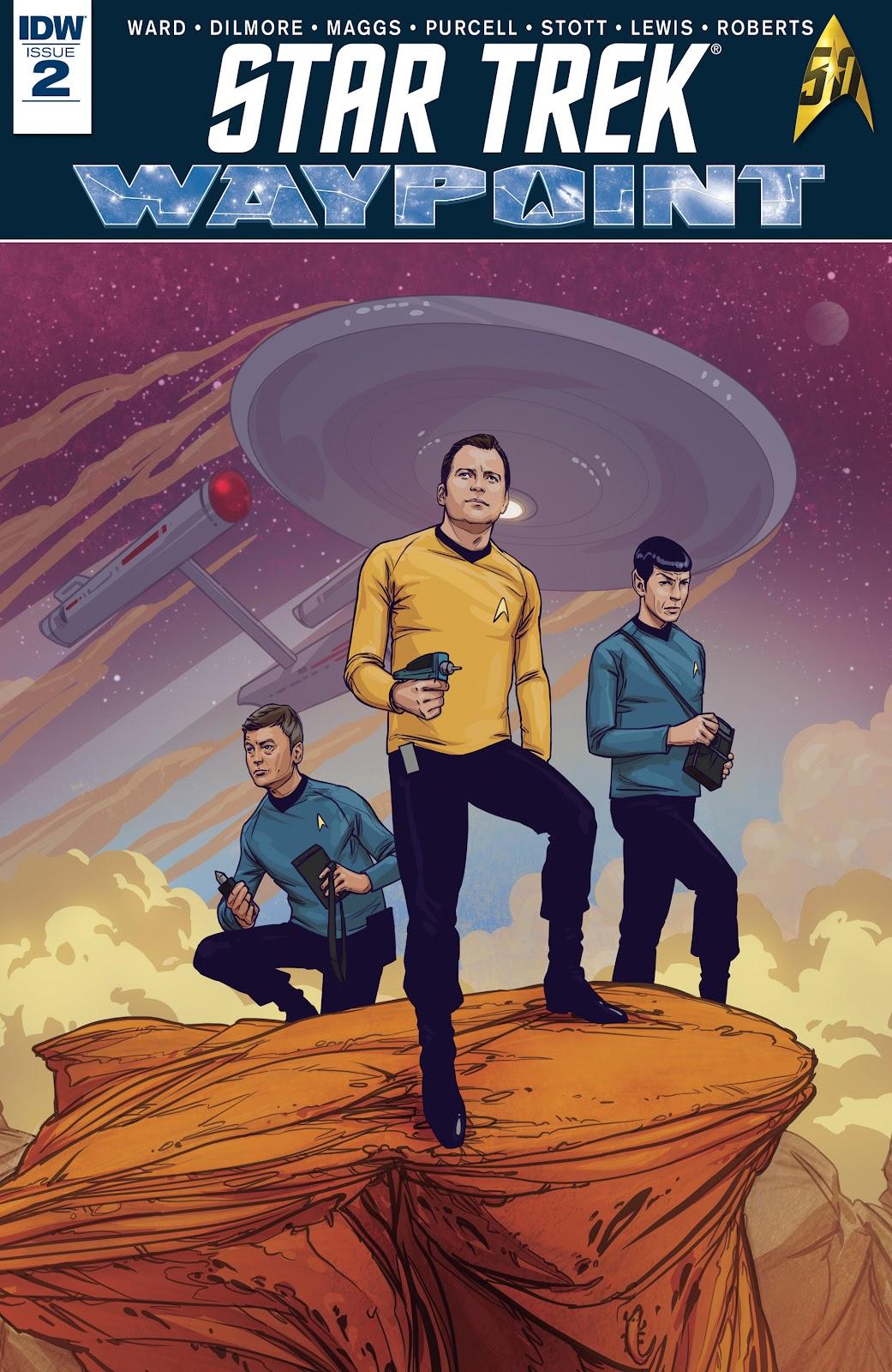 Star Trek: Waypoint 2 Page 1
