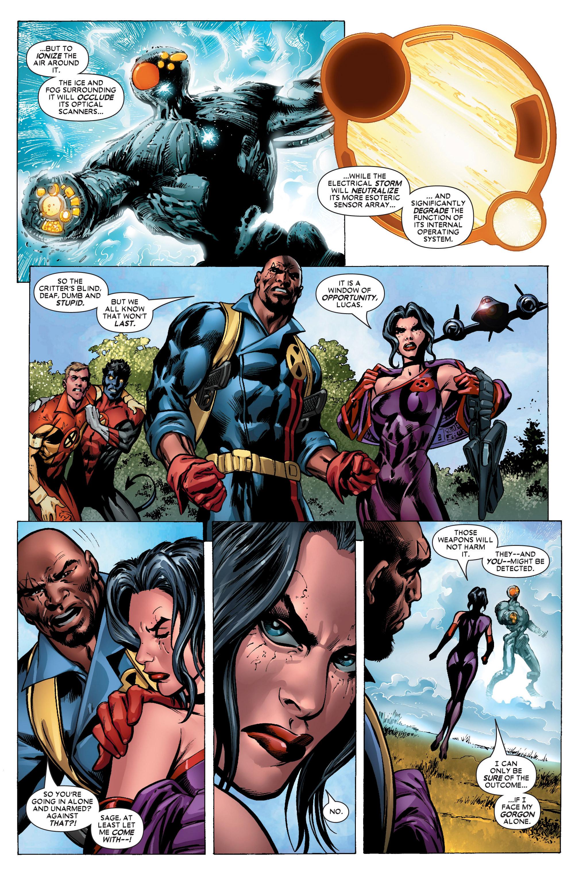 Read online Uncanny X-Men (1963) comic -  Issue #447 - 12