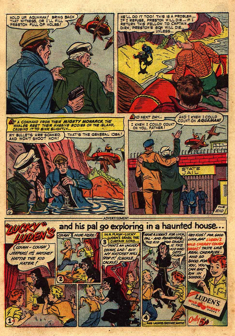Read online Adventure Comics (1938) comic -  Issue #175 - 22