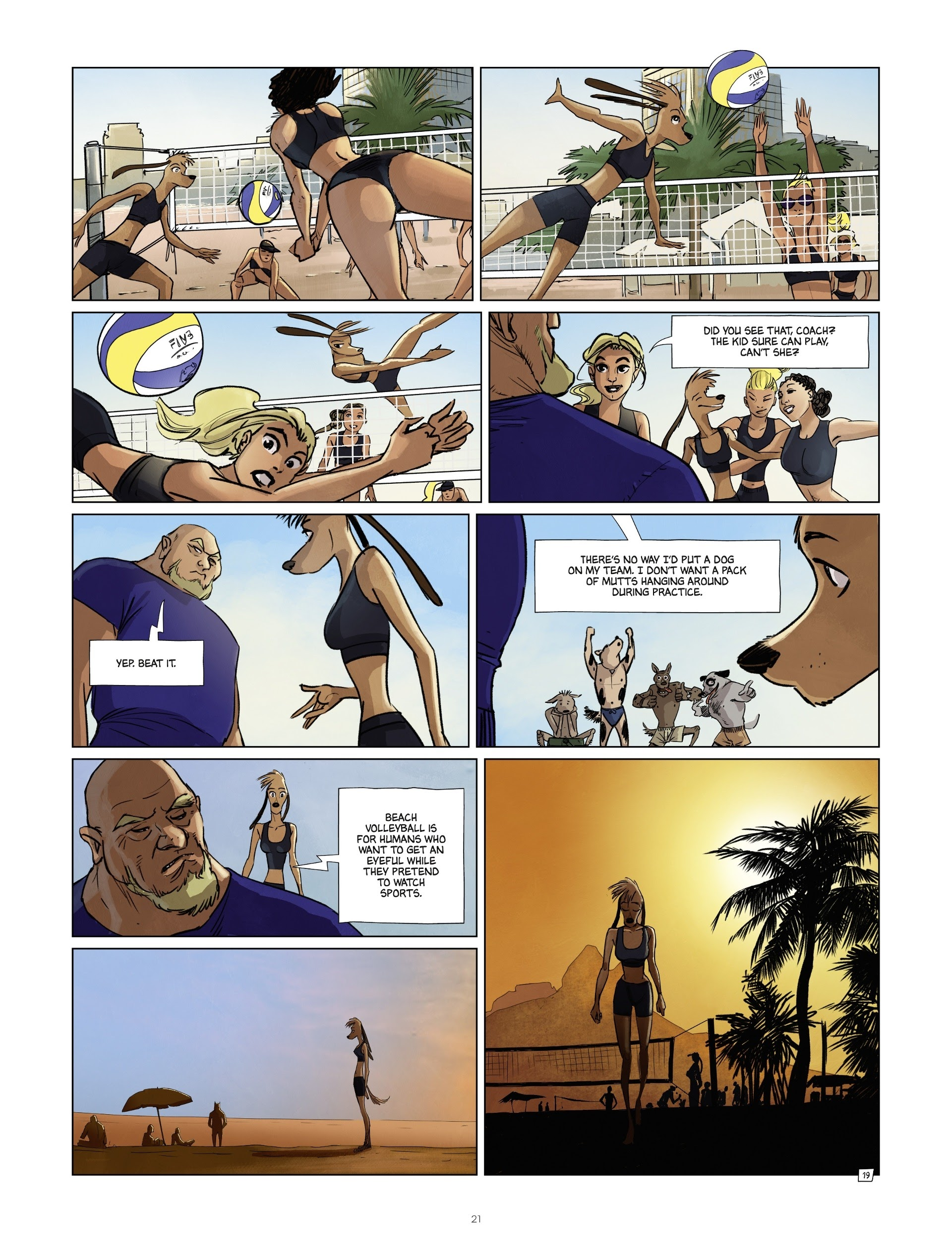 Read online Jack Wolfgang comic -  Issue #3 - 23