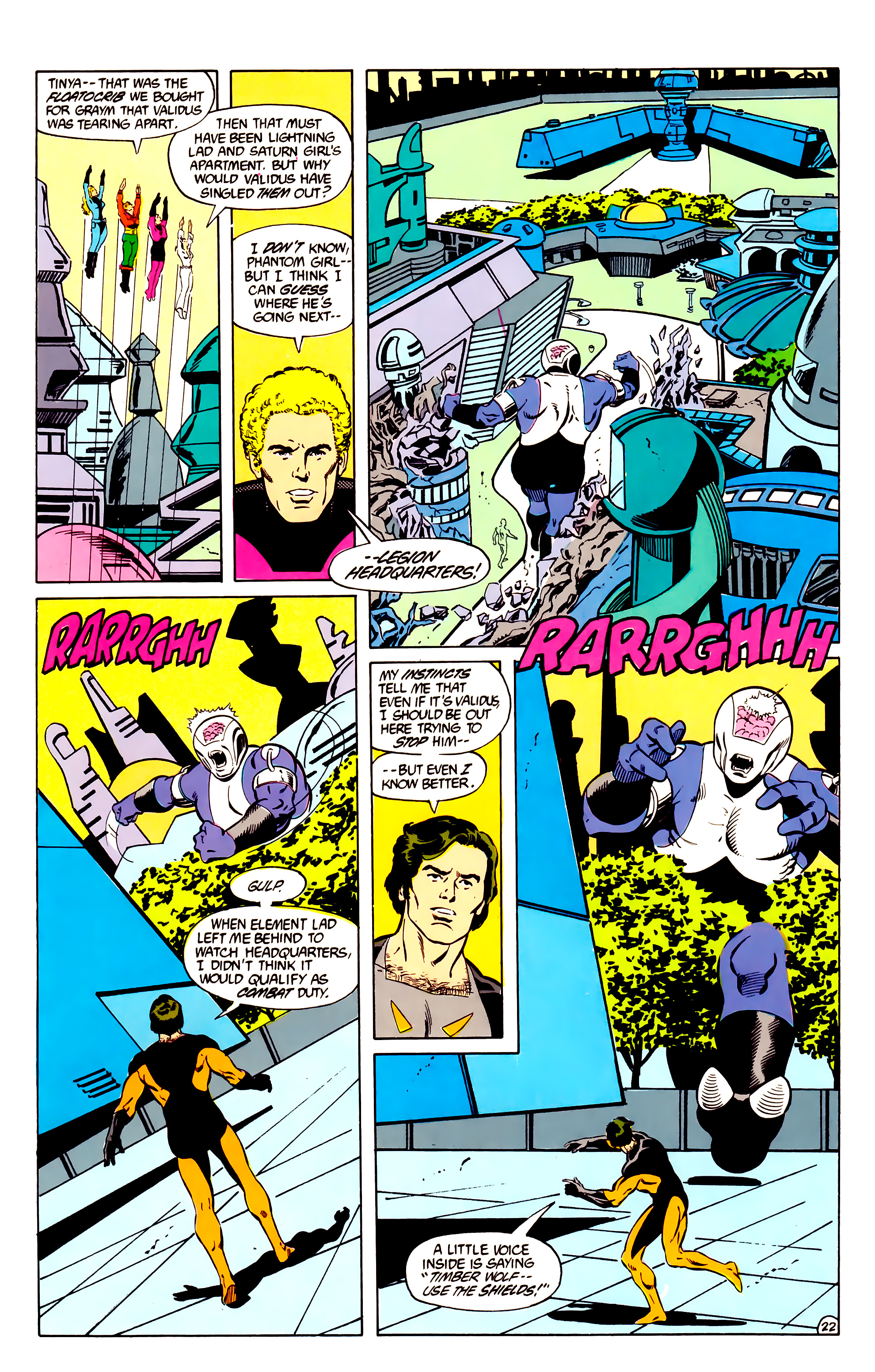 Legion of Super-Heroes (1984) _Annual_2 Page 23