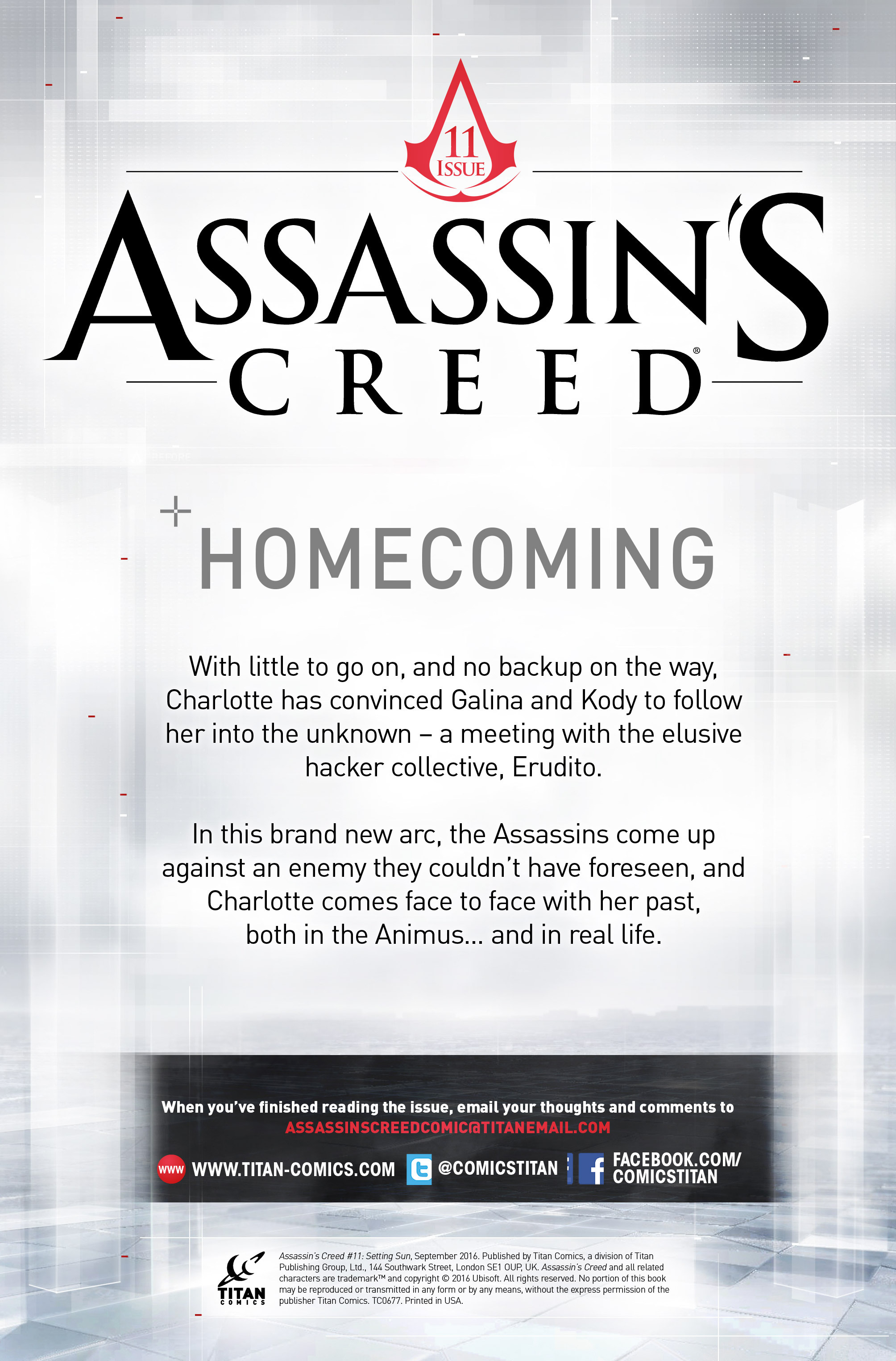 Read online Assassin's Creed (2015) comic -  Issue #11 - 2