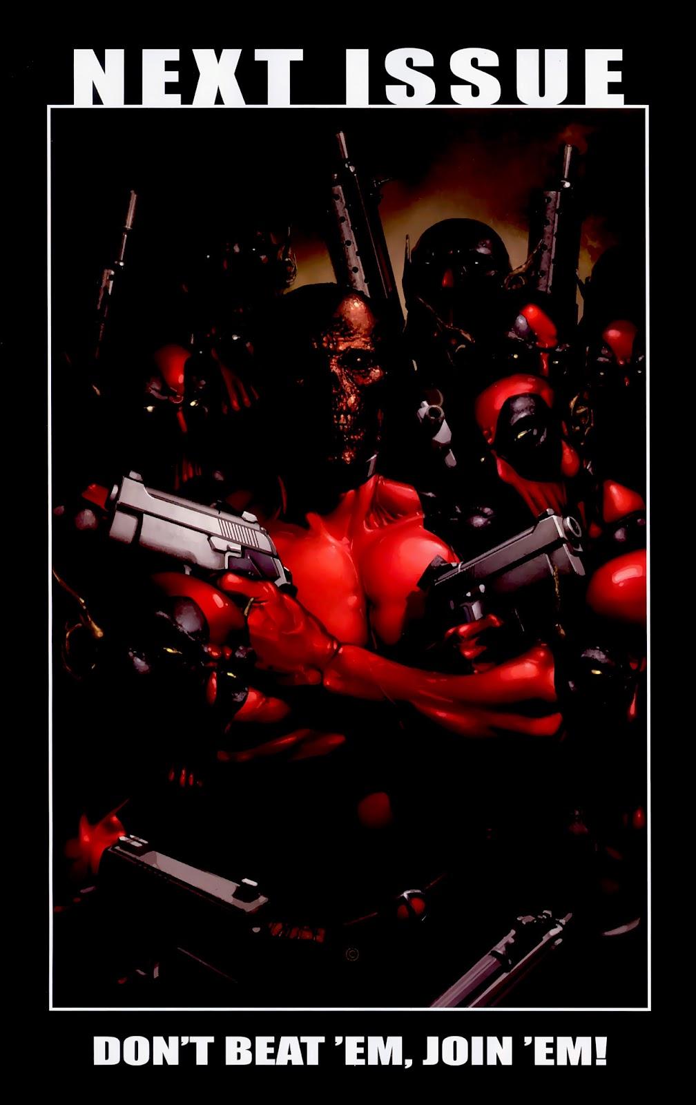 Read online Deadpool (2008) comic -  Issue #1 - 23