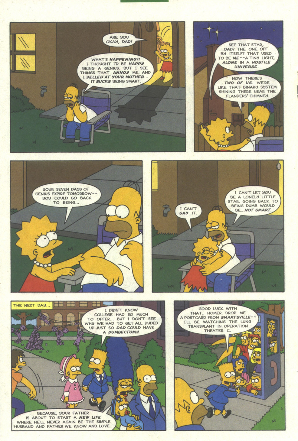 Read online Simpsons Comics comic -  Issue #27 - 17